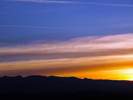 The Sun Rises Over Amargosa Range by Joe Schofield