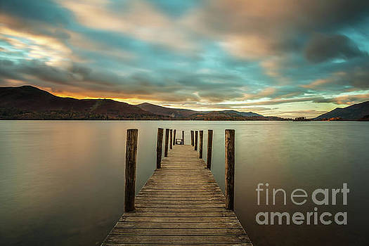 Derwent Water at Ashness Jetty by Martin Williams