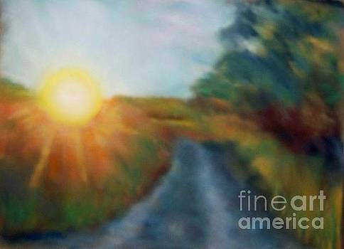The Sunny Side by Shirley Moravec