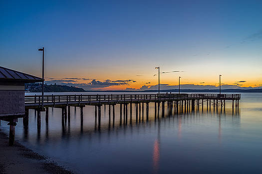 The Sunset at Redondo Beach by Ken Stanback