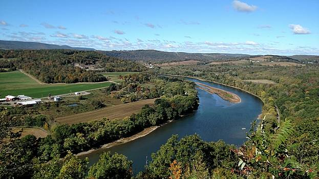 The Susquehanna River by James Guentner