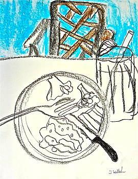 The taste when I eat alone by Esther Wilhelm Pridgen