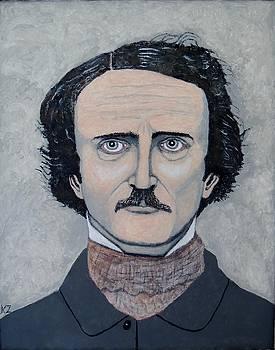 The Telltale heart of Edgar Allen Poe. by Ken Zabel