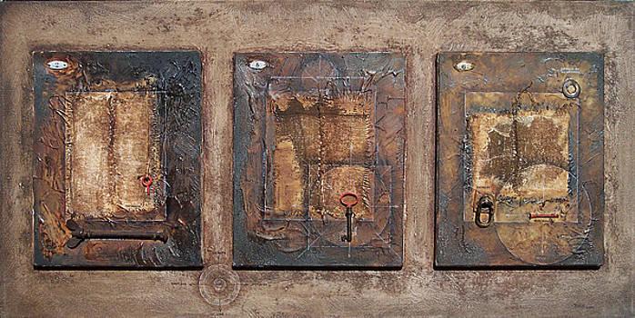 The Three Windows. 2004. by Daniel Pontet