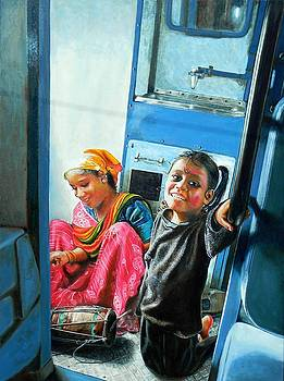 The Train by Dinesh  Dubey