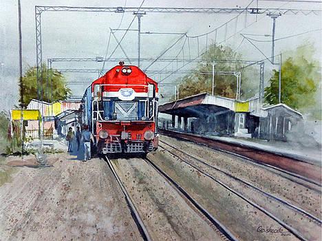 The Train by Gourav Sheode