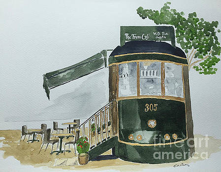 The Tram Cafe by Eva Ason