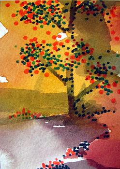 The Tree Yielded Fruit by Bill Meeker