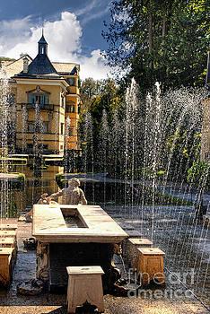 Trick Fountains of Hellbrun  by Brenda Kean
