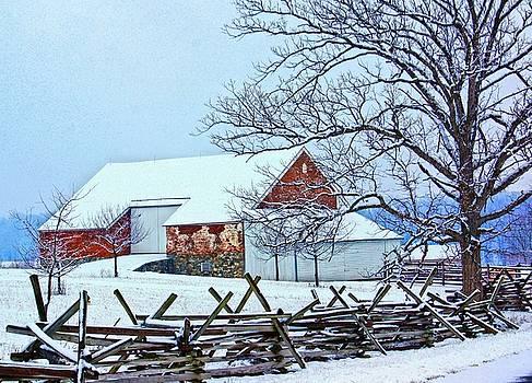 The Trostle Farm by L Granville Laird