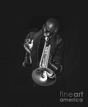 The Trumpet Player by Barbara Milton