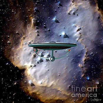 The Emergence of the USS Enterprise by Walter Oliver Neal
