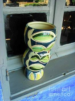 The Vase In The window by Jasna Dragun