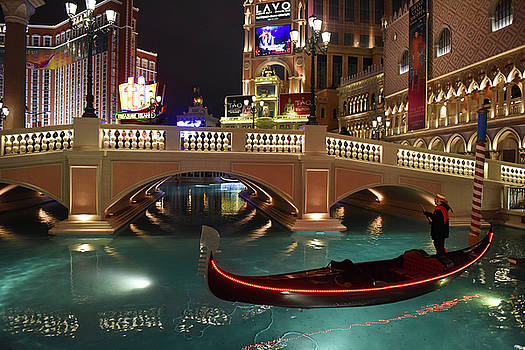 The Venetian Las Vegas by Dung Ma