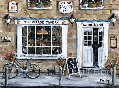 The Village Tavern by Marilyn Dunlap