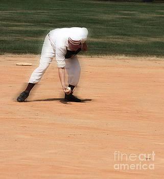 Baseball in the 1860s  by Steven  Digman