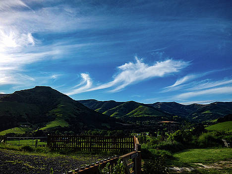 The Volcanic Hills by Steve Taylor