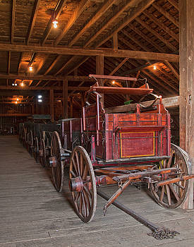 The Wagon Barn by Ron  McGinnis