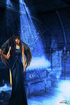 The Waiting Of The Dark Angel by Emma Alvarez