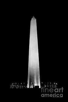 The Washington Monument by E B Schmidt