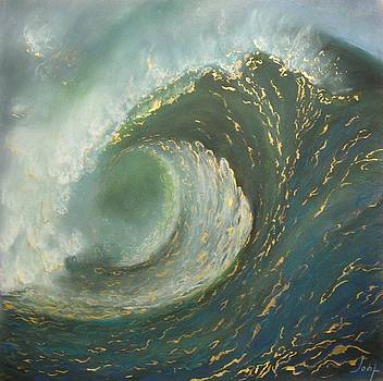 The wave by Irina IOSIP