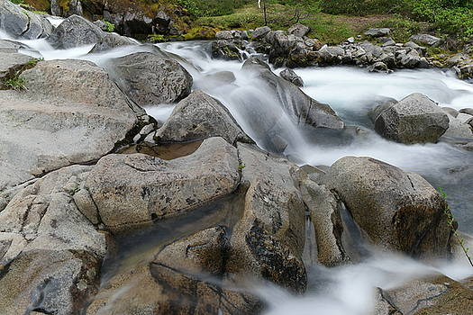 The way water forms rocks by Jeff Swan
