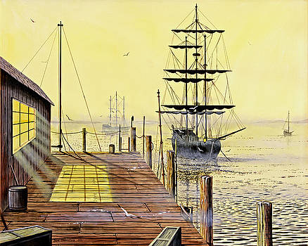 The Wharf by Don Griffiths