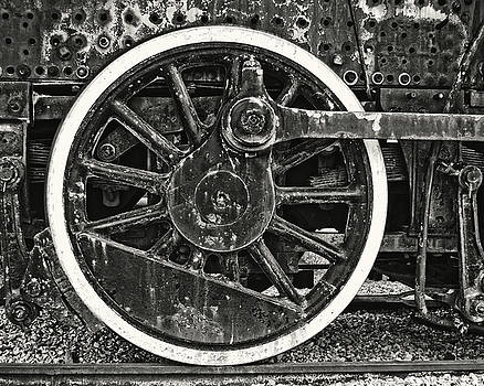 The Wheel in Black and White by Emily Kay