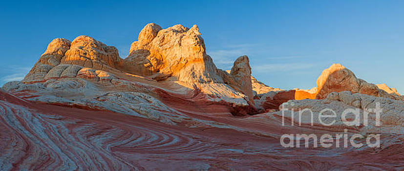 The White Pocket, part of the Vermillion Cliffs National Monumen by Henk Meijer Photography
