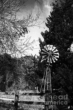 The Windmill And The Fence  by Chris Berry