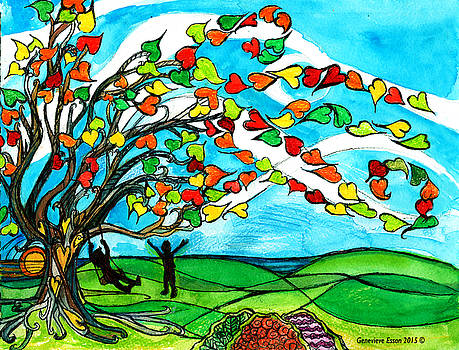 The Windy Tree by Genevieve Esson