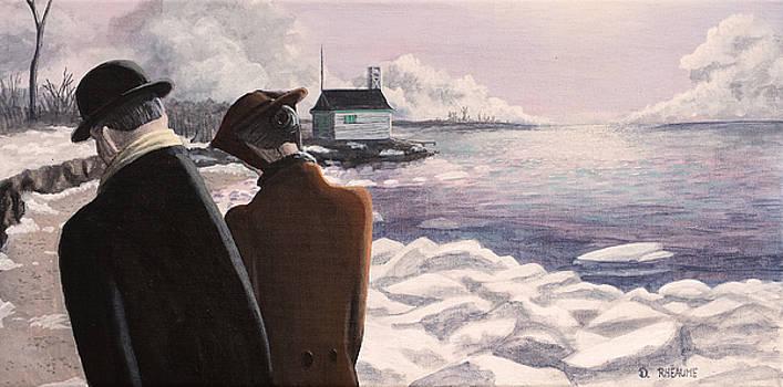 The Winter Beach by Dave Rheaume