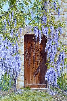 The Wisteria Gate by Frances Evans