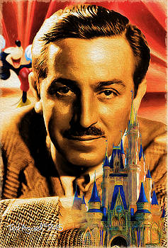 The World Of Walt Disney by Ted Azriel