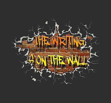 The Writing Is On The Wall by Peter Stevenson