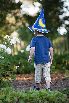 The young wizard by Eyal Nahmias