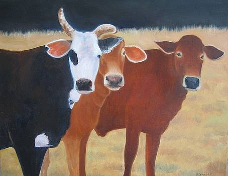 Thee Amigos by Karen Snider