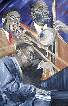 Thelonious Monk and Friends by Michael Lee