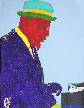 Thelonious Monk by Stormm Bradshaw