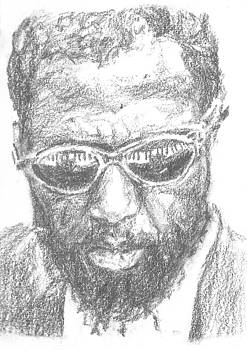 Thelonius Monk by Maya Lewis