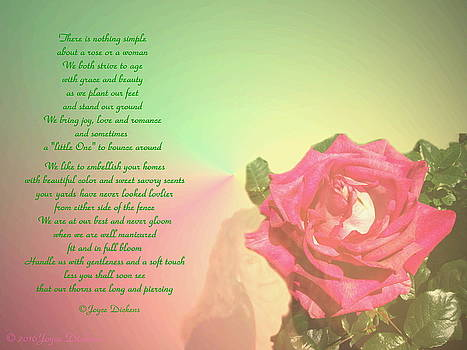 Joyce Dickens - There Is Nothing Simple About A Rose Or A Woman