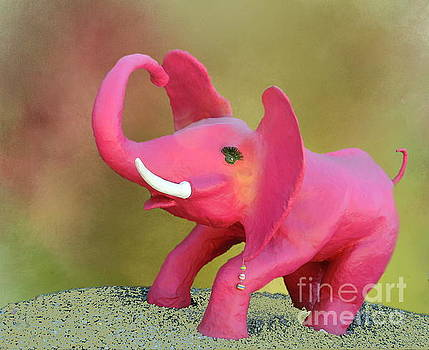 There really are Pink Elephants by Myrna Bradshaw