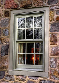There'll Be A Light in the Windows Until You're Back Home - Poole Forge - Lancaster County PA by Michael Mazaika