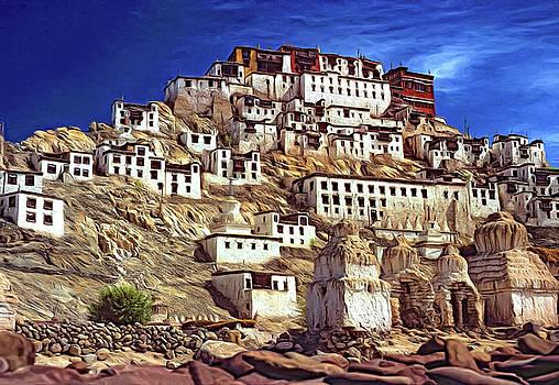 Steve Harrington - Thiksey Monastery - Paint