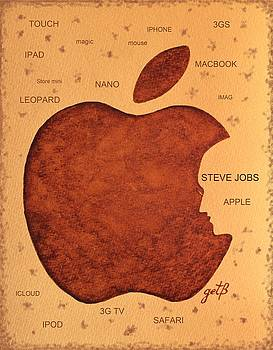 Think Different Steve Jobs  by Georgeta  Blanaru