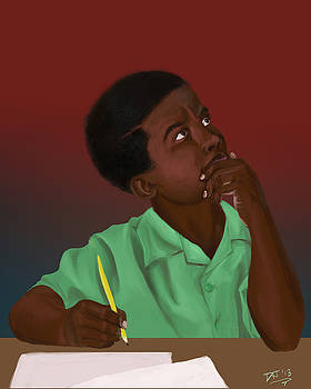 Thinking Boy by David James