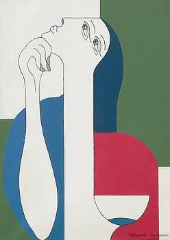 Thinking by Hildegarde Handsaeme