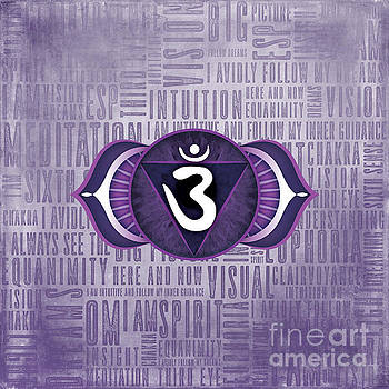Third Eye Chakra - Awareness by David Weingaertner