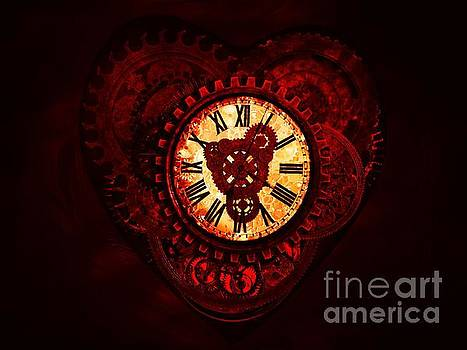 This Clockwork Heart of Mine by Putterhug  Studio