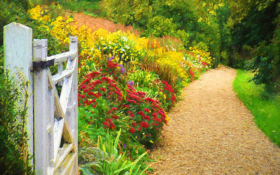 This way to the summer garden by ShabbyChic fine art Photography
